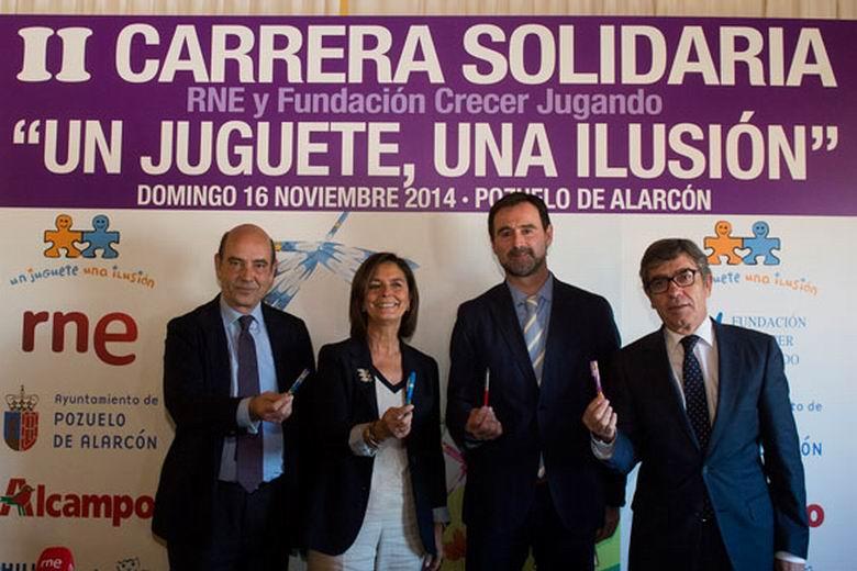 """La II Carrera Solidaria """"Un juguete, una ilusión"""" se celebrará en Pozuelo de Alarcón el 16 de noviembre"""