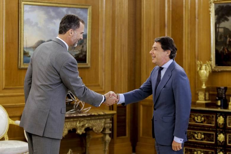 González trata con Felipe VI la situación de la Comunidad de Madrid y la actualidad de España