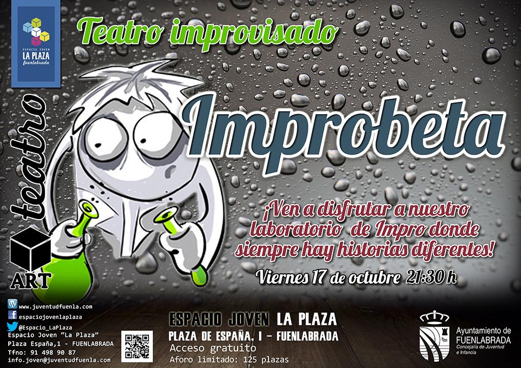 Teatro de improvisación para jovenes el viernes en Fuenlabrada.