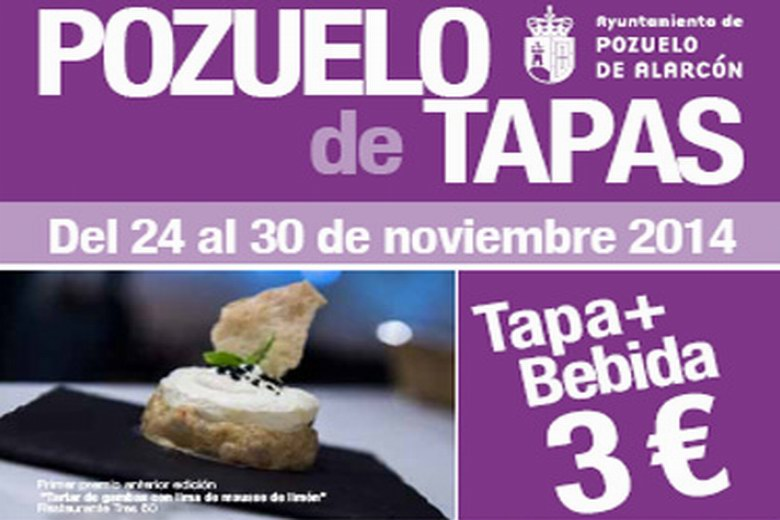 La Feria de la tapa llega a Pozuelo hasta el 30 de Noviembre