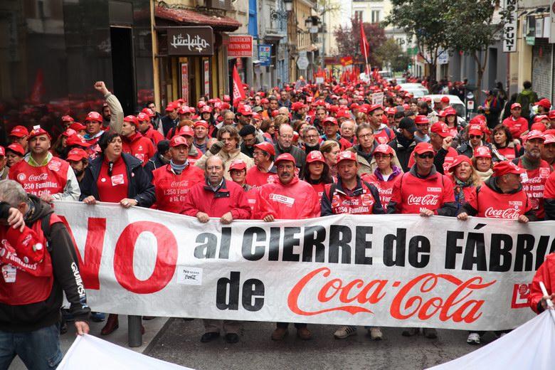 Manuel Robles felicita a los trabajadores de Coca-Cola por la decisión de la Audiencia Nacional