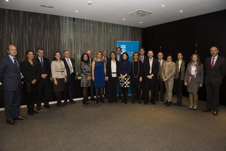 Pozuelo acoge un encuentro de presidentes de asociaciones empresariales con el Banco Sabadell