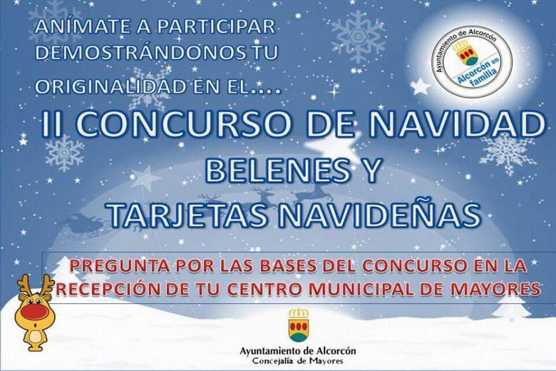 II edición del Concurso de Belenes y Tarjetas Navideñas en Alcorcón