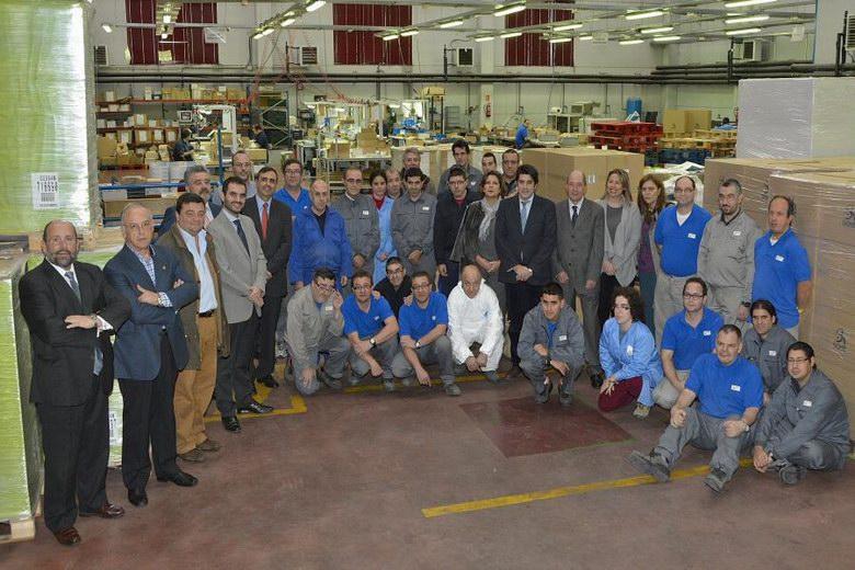 David Perez visitó el Centro de Empleo para personas con Discapacidad de Afanias en Alcorcón