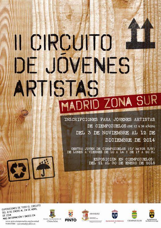 Cartel II Circuito de Jovenes Artistas