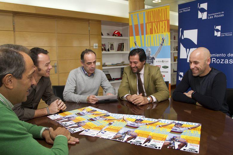 El XXIII Memorial María Isabel Clavero de ciclismo se disputa este fin de semana en Las Rozas