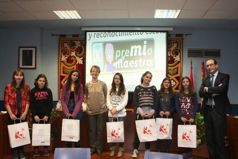 Leganés entrega los Premios 'Mi Maestr@' a alumnos de Primaria y Secundaria