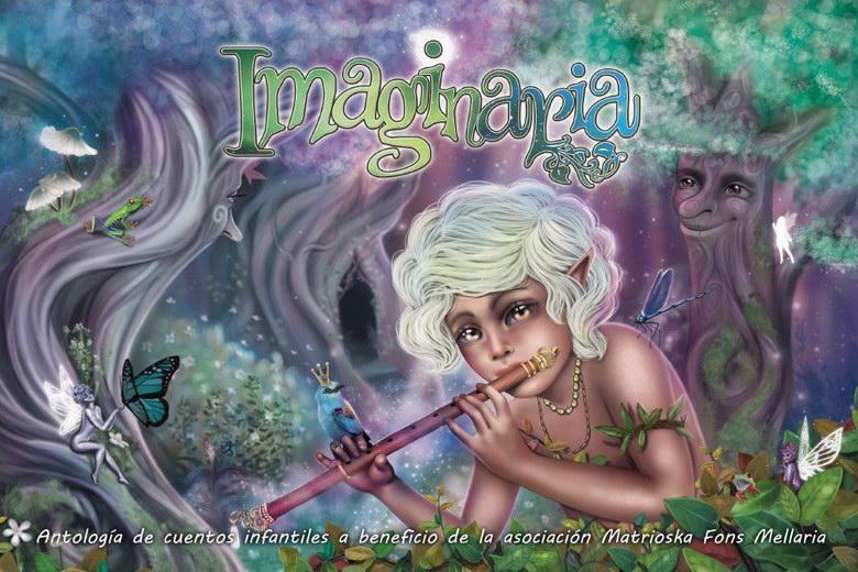 'Imaginaria' literatura solidaria a través de cuentos fantásticos