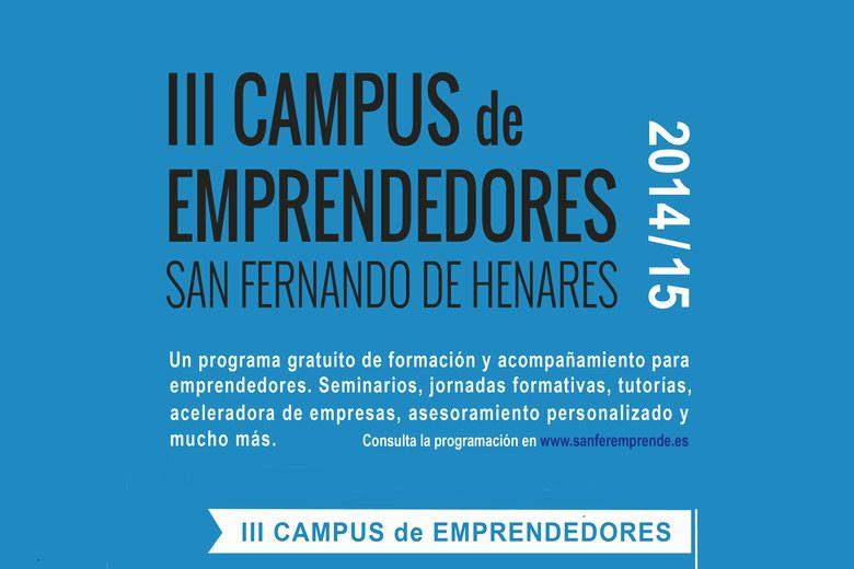III Campus de emprendedores en San Fernando de Henares