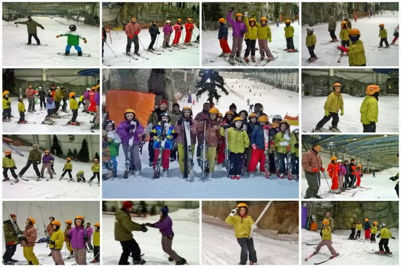 Éxito de las clases de esquí ofertadas por el Ayuntamiento de Arroyomolinos