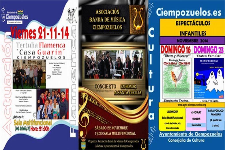 Fin de semana cultural en Ciempozuelos