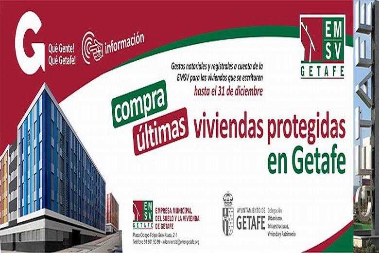 Nuevas promociones de viviendas protegidas de la Empresa Municipal de la Vivienda de Getafe