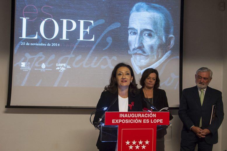 'Es Lope', exposición sobre la figura de Lope De Vega hasta el 1 de Febrero