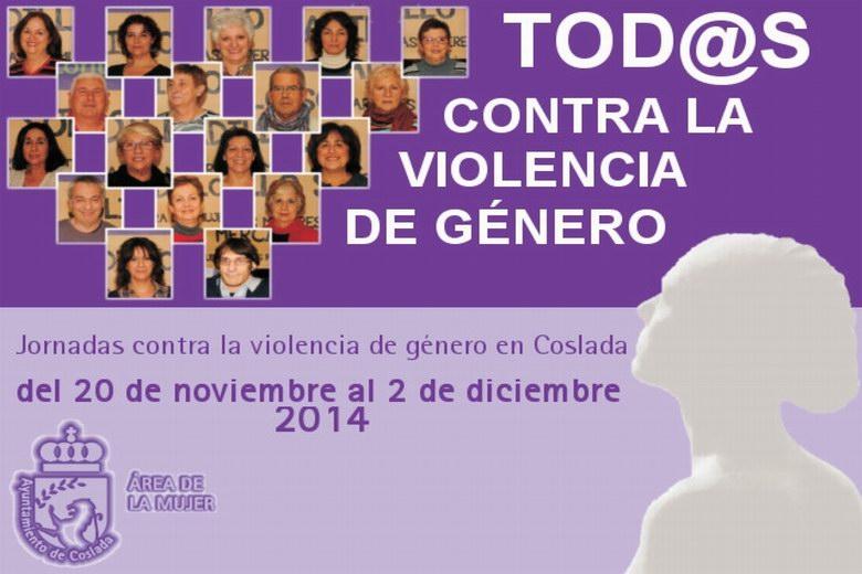 Las mujeres y hombres de Coslada, protagonistas de los actos contra la violencia de género en el municipio