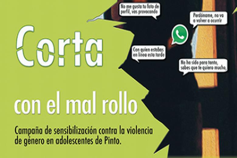 Pinto elabora la campaña 'Corta con el Mal Rollo', para prevenir la violencia de género en adolescentes
