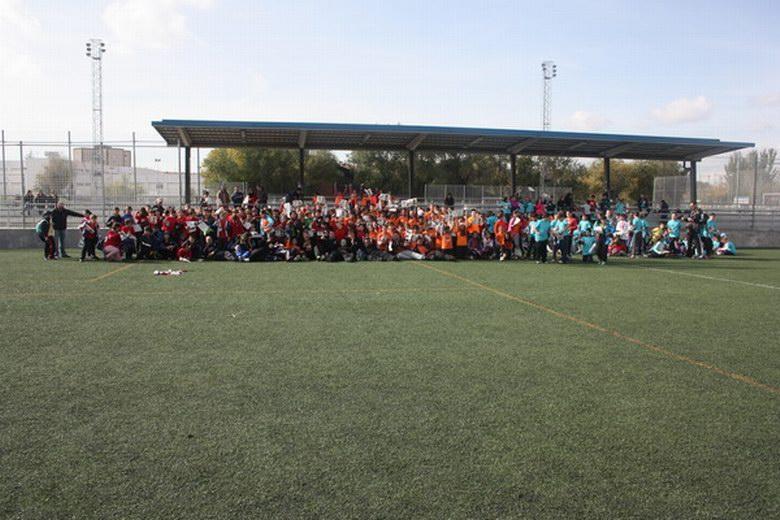 Más de 300 alumnos de Primaria participaron en el I Torneo Interescolar de Rugby de Getafe