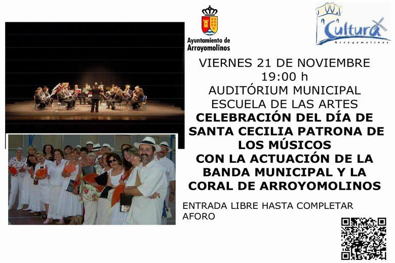 Concierto de Santa Cecilia en el Auditorium Municipal de Arroyomolinos