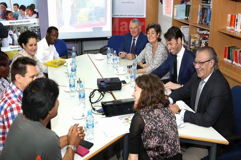 Presupuestados 1,5 millones para proyectos de acogida de inmigrantes en la Comunidad de Madrid