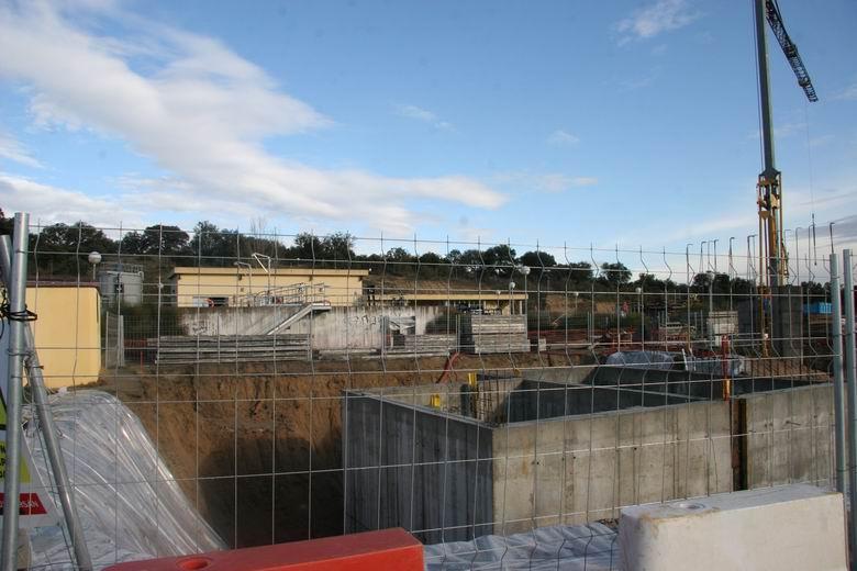 Comienzan los trabajos para la ampliación de la Estación Depuradora de Aguas Residuales (EDAR) de Sevilla la Nueva