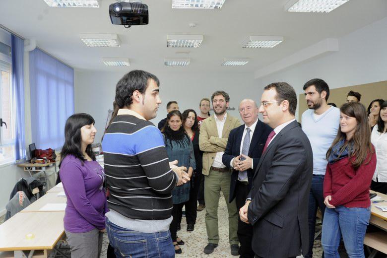 Nuevo Instituto de Emprendimiento y Desarrollo Profesional en Móstoles a principios de 2015.