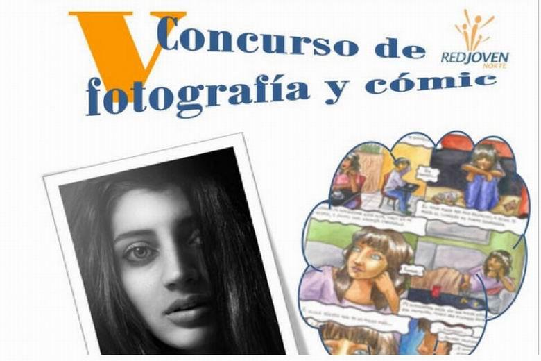 V Concurso de Cómic y Fotografía organizado por la Red Joven Norte