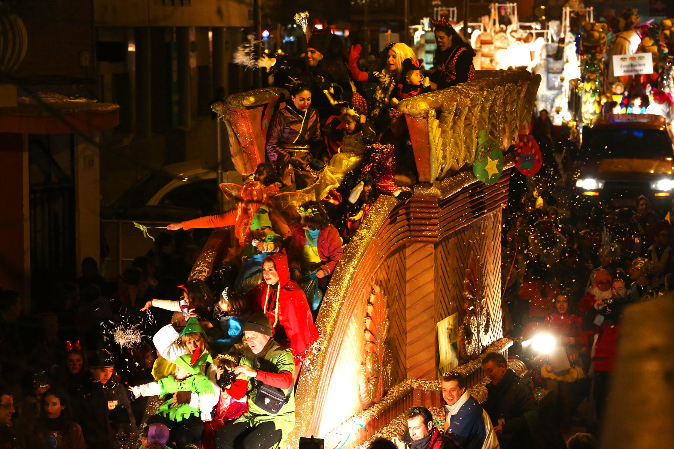 Los Reyes Magos recorrerán las calles de Alcobendas el próximo lunes 5 de enero
