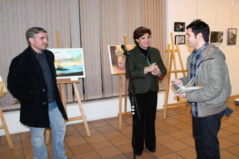 Inauguración del II Circuito de Jóvenes Artistas Zona Sur en Ciempozuelos