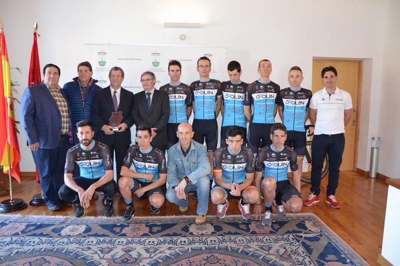 Presentación del Equipo Ciclista Orquín en Villanueva de la Cañada