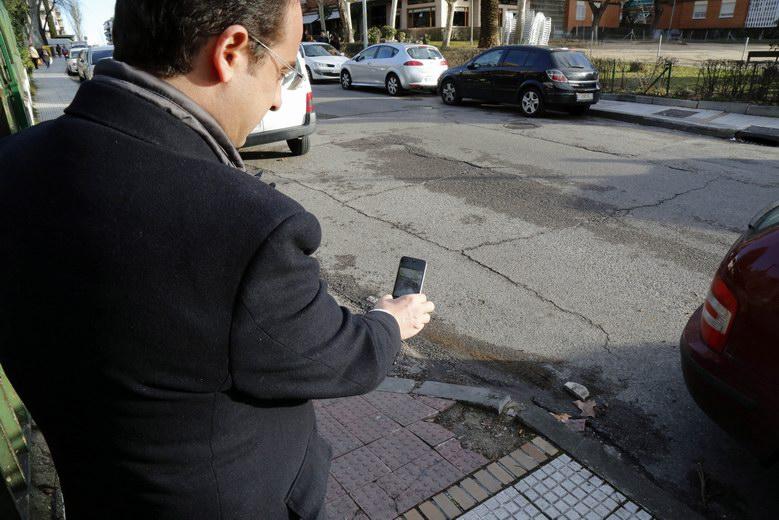 """Presentada la aplicación móvil """"Mejora Móstoles"""", que permite trasladar incidencias de la ciudad en tiempo real"""