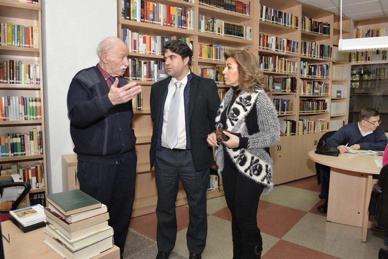 El Ayuntamiento de Valdemoro amplía la biblioteca del Centro Municipal de Mayores
