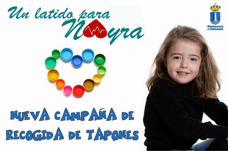 """""""Un latido para Nayra"""", nueva campaña solidaria en Humanes"""
