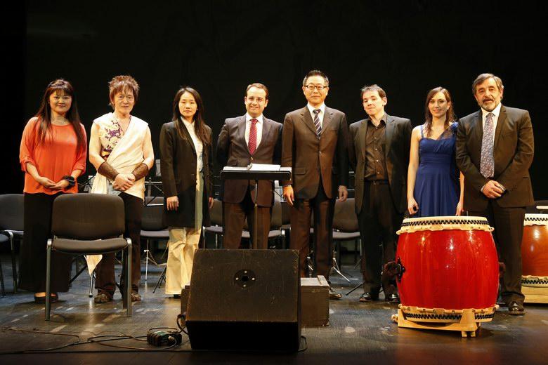 Móstoles y Japón se solidarizan y fusionan a través de la música