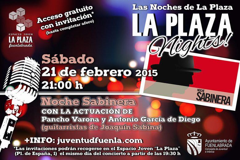 'Las Noches de la Plaza' en Fuenlabrada: música, teatro o monólogos para jovenes