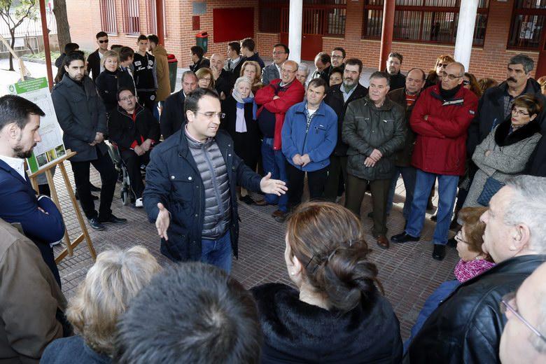 El antiguo colegio Tierno Galván de Móstoles se convertirá en un Espacio para Mayores y en la nueva sede de la Junta de Distrito Oeste