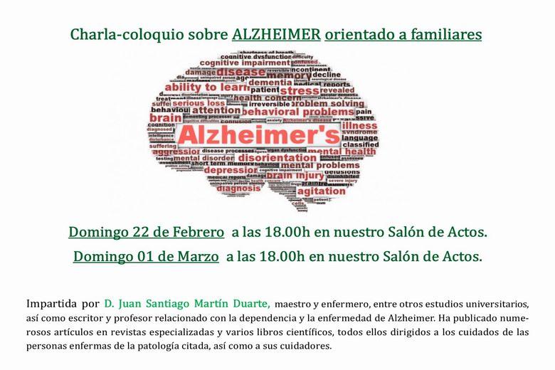 Charlas sobre el Alzheimer en la Residencia Virgen del Pilar de Boadilla