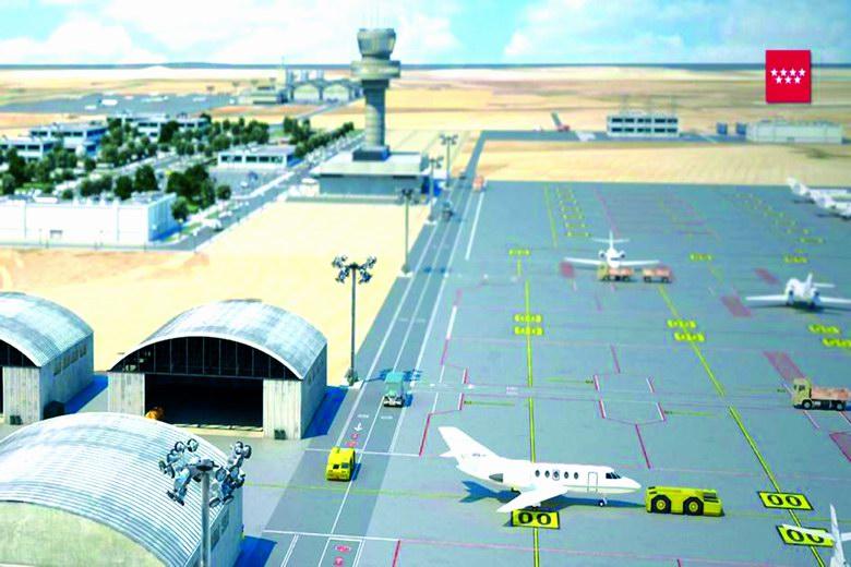 La Comunidad de Madrid sacará a concurso la construcción del Aeródromo del Suroeste
