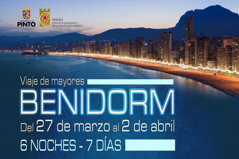 Pinto organiza un viaje de Semana Santa a Benidorm para los mayores del municipio