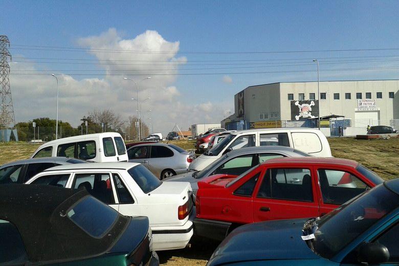 Alcorcón retira de la vía pública 124 vehículos tras terminar la ampliación de las obras del depósito municipal