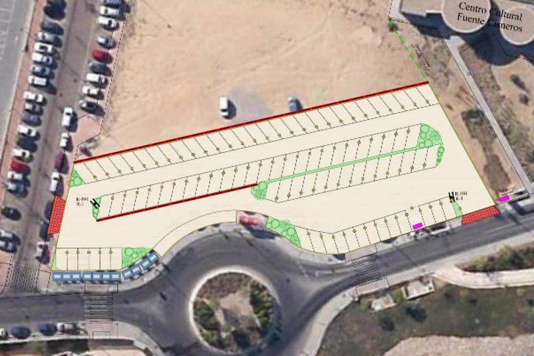 El barrio de Fuente Cisneros de Alcorcón contará en Marzo con el aparcamiento que decidieron los vecinos
