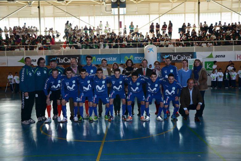 Villanueva de la Cañada acoge el 'Megacrack' del Club Inter Movistar Fútbol Sala