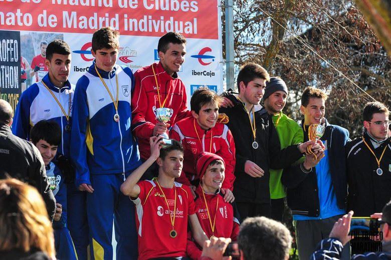El Club Atletismo Alcorcón clasifica a diez equipos en el Campeonato de España de campo a través