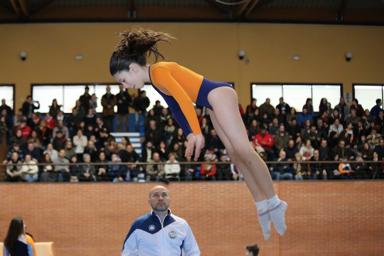 El club gimnástico Getafe logra 47 medallas en el II encuentro interescolar de trampolín