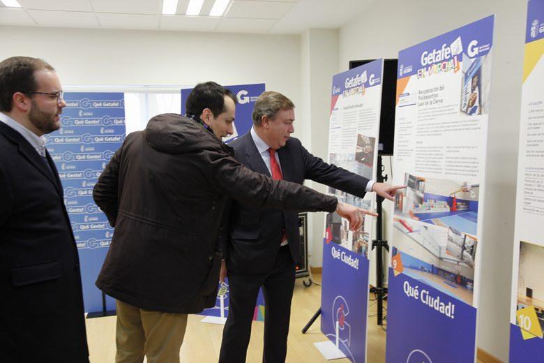 La exposición 'Getafe en marcha' mostrará las principales actuaciones impulsadas por el Gobierno municipal para mejorar la ciudad