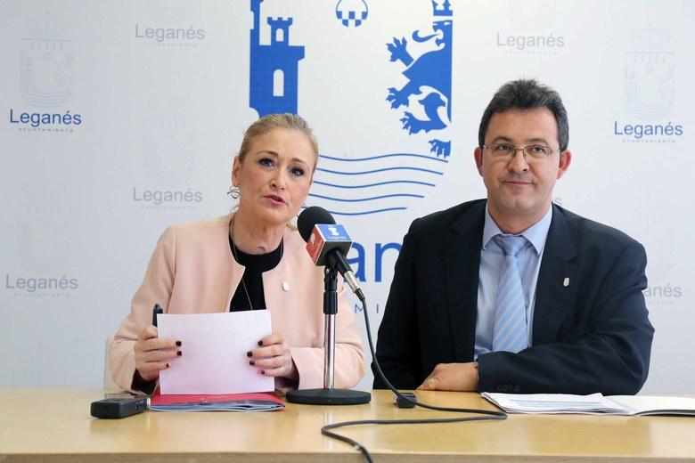 """La delegada del Gobierno afirma que """"Leganés es una de las ciudades más seguras de la Comunidad de Madrid"""""""
