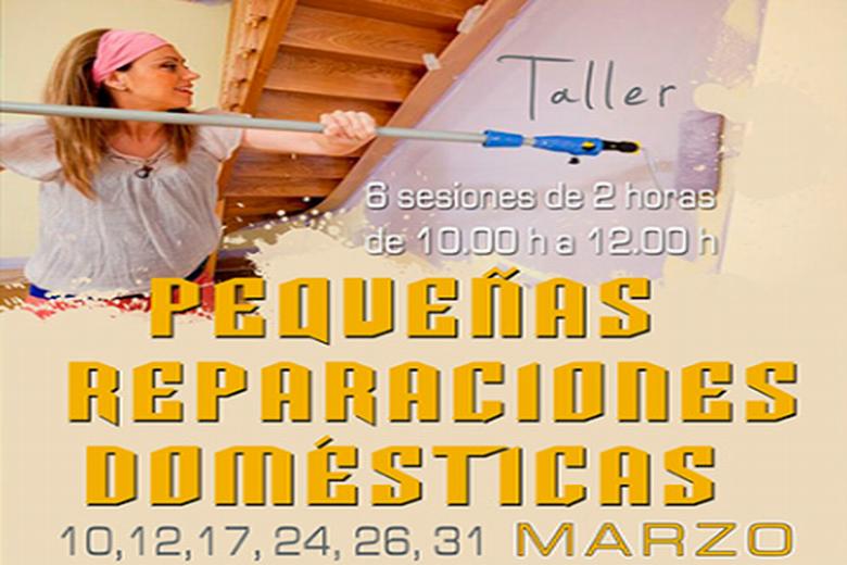 Pinto presenta un nuevo Taller de Reparaciones Domésticas para fomentar la autonomía en el hogar