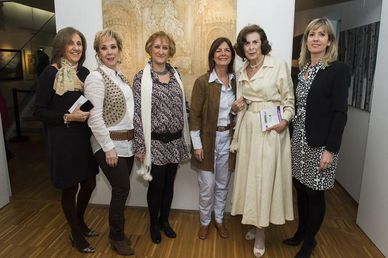 Pintoras de Pozuelo exponen sus trabajos en el Centro Cultural Padre Vallet con motivo del Día de la Mujer