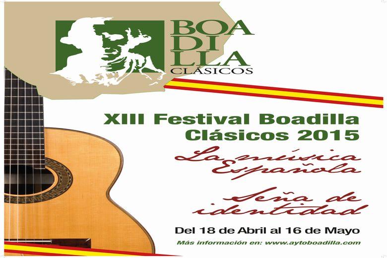 Boadilla Clásicos dedica su edición 2015 a la música española