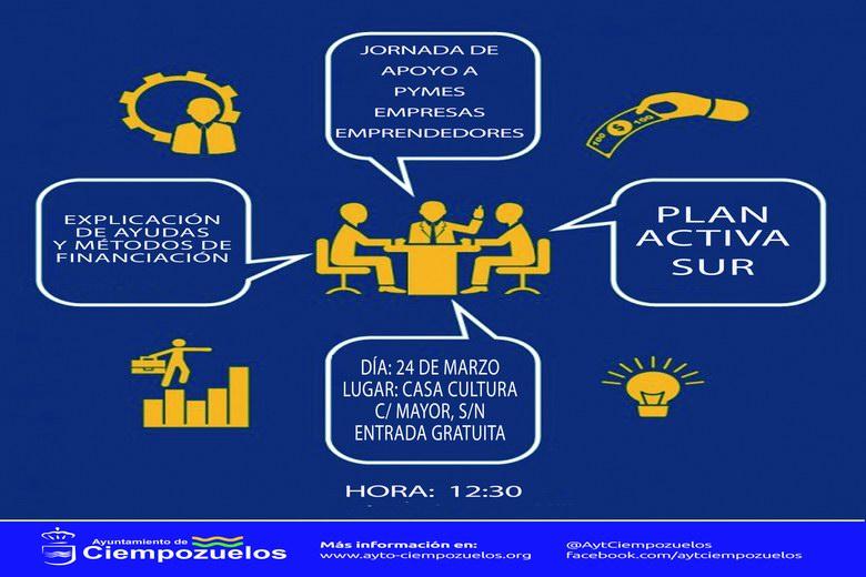 Jornada de apoyo a Pymes, empresas y emprendedores en Ciempozuelos