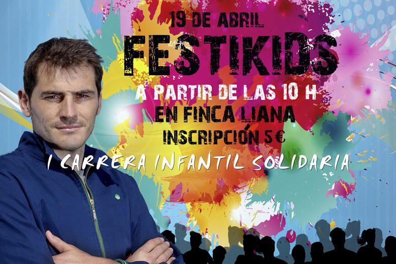 La novedosa carrera de colores FestiKids llegará a Móstoles el próximo 19 de abril