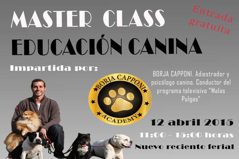 """Master Class de """"Educación canina"""" en Humanes"""